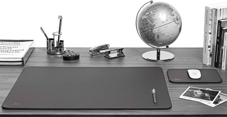 leonado otros colores y medidas Alfombrilla de escritorio Centaur 40x60 cm hecha a mano en Alemania cuero bordes redondeados antideslizante co/ñac