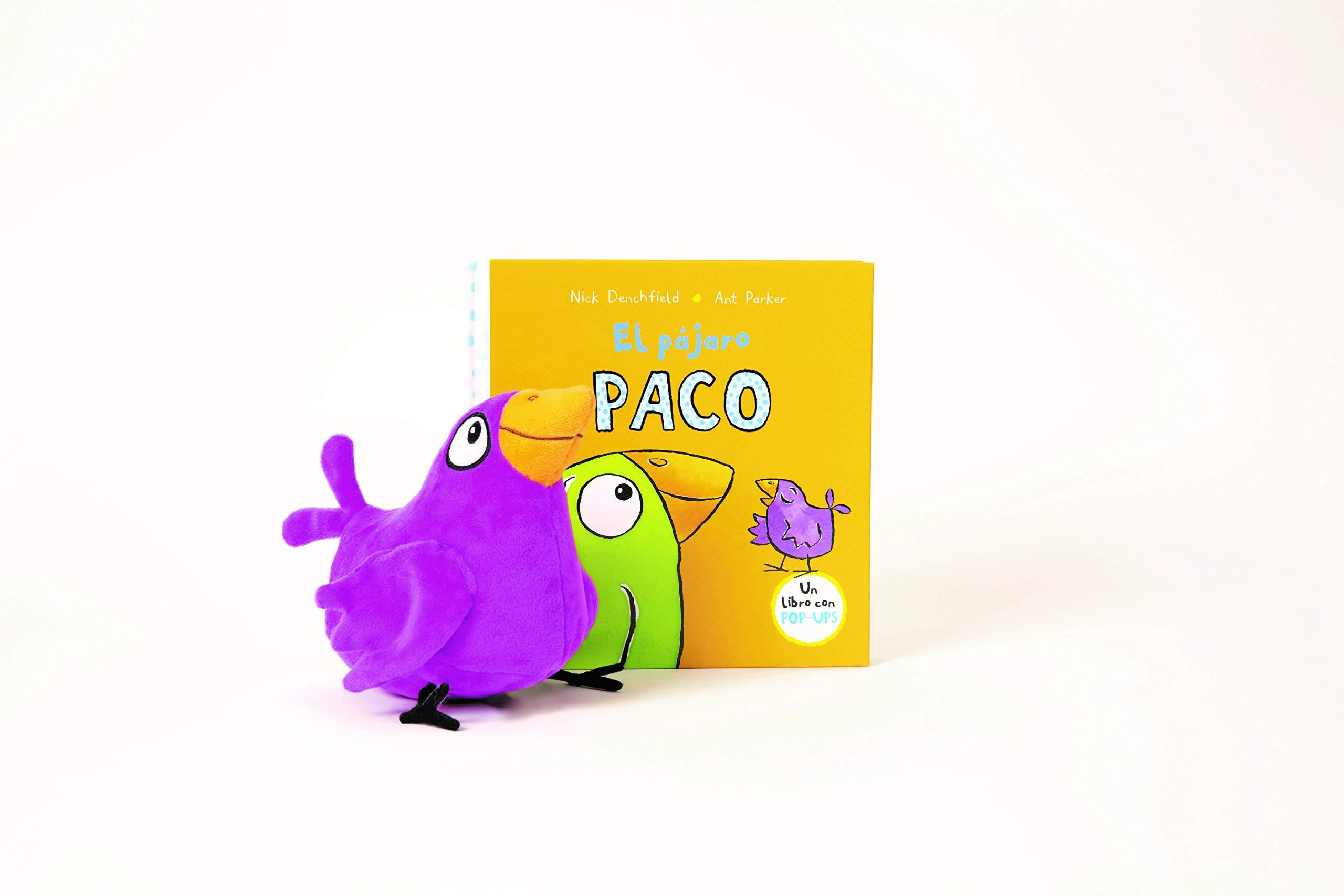 Pack de El pájaro Paco (El pollo Pepe y sus amigos): Amazon.es: Denchfield, Nick, Parker, Ant: Libros