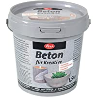 Viva Decor Beton für Kreative, 1,5 kg, Synthetic Material, grau