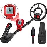 Avid Power Metal Detector for Kids Treasure Hunting Juniors Metal Detectors with Adjustable Stem, LCD Display and…