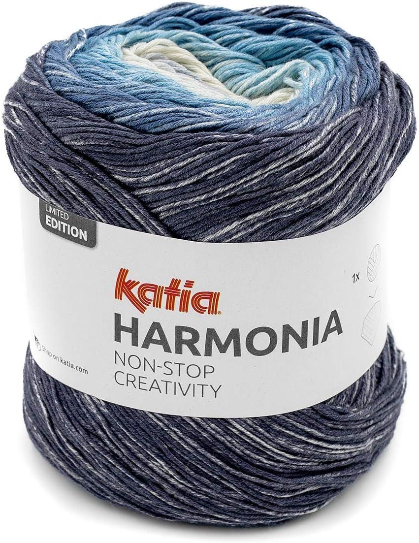 Lanas Katia Harmonia Ovillo de Color Tejano Cod. 200: Amazon.es: Hogar