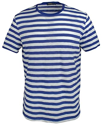 9ea154139bbfb5 Image Unavailable. Image not available for. Color: Polo Ralph Lauren Men's  Standard Fit Striped T-Shirt ...