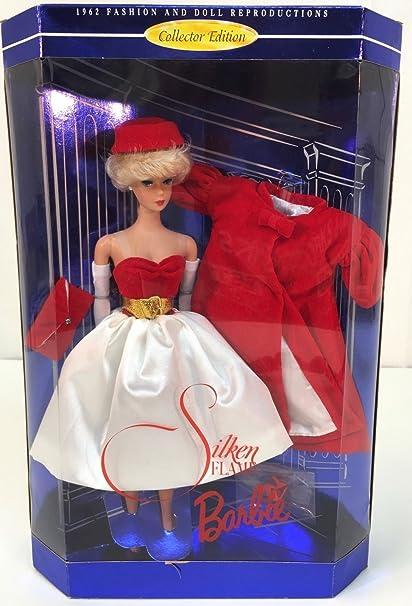 Amazon.es: Barbie 1998 Silken Flame, Reproduction 1962: Juguetes y ...