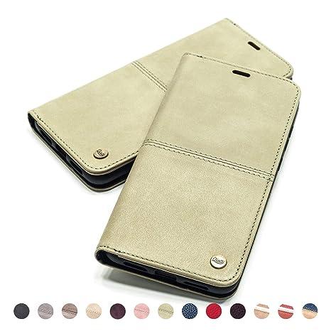 b4fae603d QIOTTI – Funda iPhone 8 iPhone 7 I RFID NFC protección I Incl. Protector de