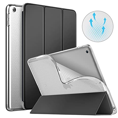 Amazon.com: MoKo Funda para iPad 9.7 2018/2017, [Auto Wake ...