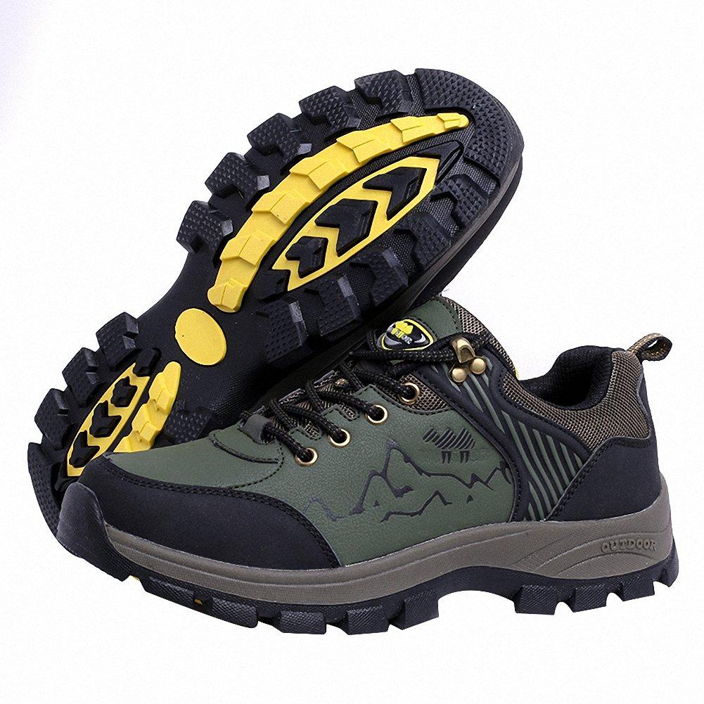 Ben Sports Verde Zapatillas de senderismo Botas de senderismo senderismo senderismo zapatillas de deporte para Hombre,37-46 ed16a8