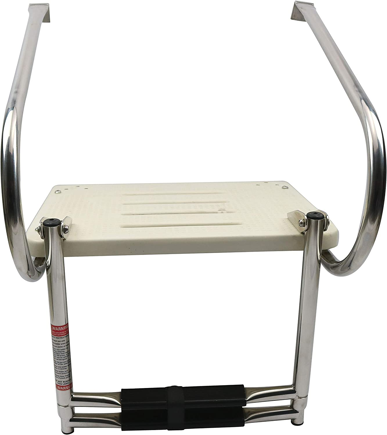 East Kay Boat in Board ABS Swim Platform with 2-Steps Telescopic Ladder