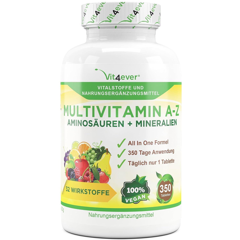 Multivitamin A-Z Präparat mit Mineralstoffen
