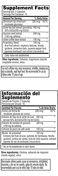Amazon.com: Slim Trim Weight Loss Product, Bilingual, 30 Count: Health & Personal Care