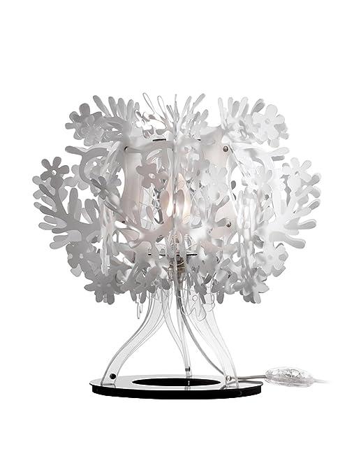 10 opinioni per Slamp Lampada da Tavolo Fiorella bianco 33 cm