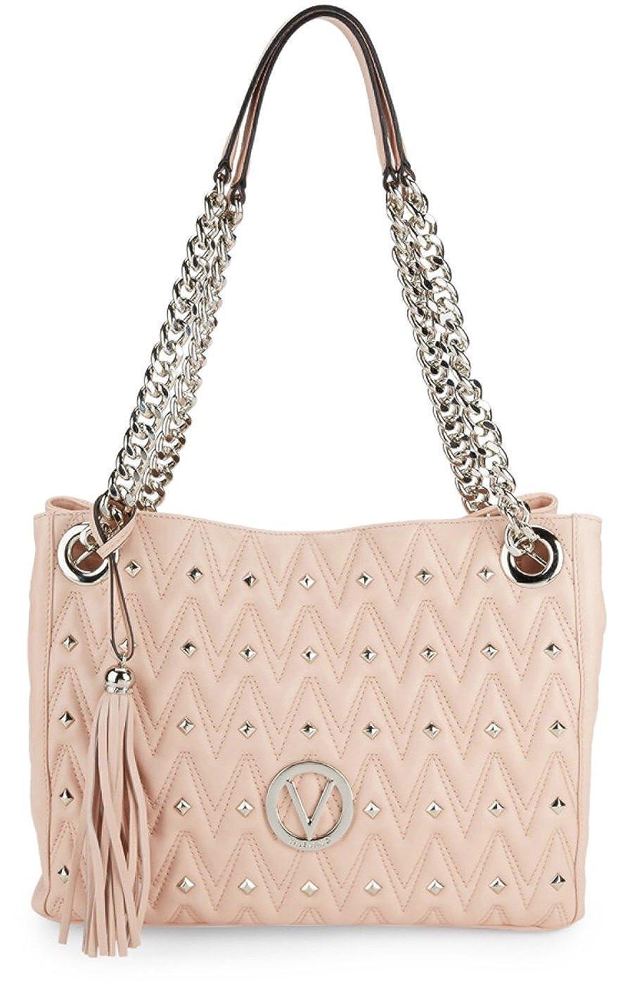 85275978979d Amazon.com  Valentino By Mario Valentino Luisa Diamond Quilted Leather  Shoulder Bag - Quartz  Shoes