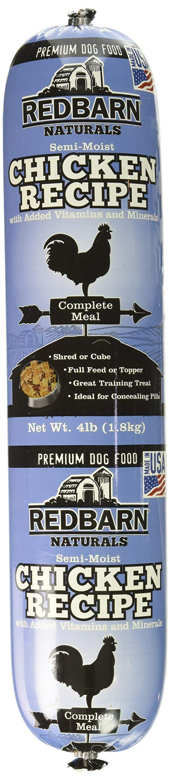 Redbarn Pet Products Chicken and Liver Food Roll 4 lb. roll by Redbarn Pet Products