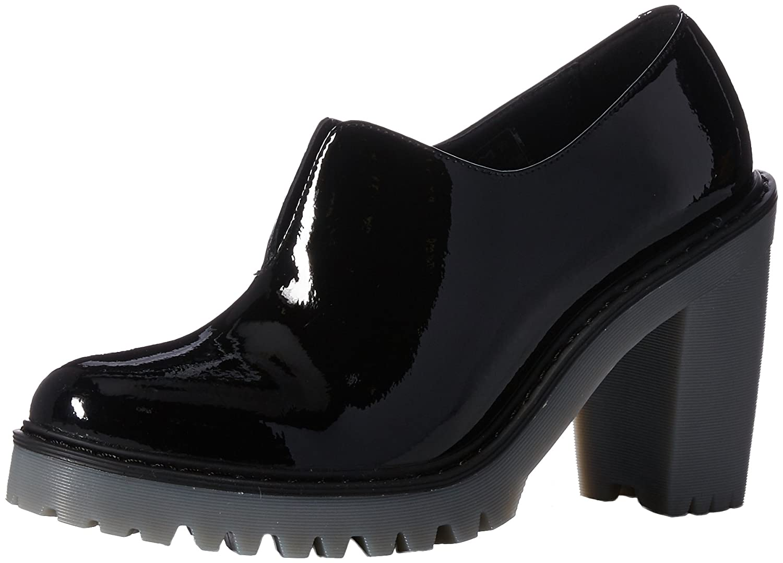 Dr. Martens Women's Cordelia Ankle Boot B01MT43UCX 9 Medium UK (11 US)|Black Patent Leather