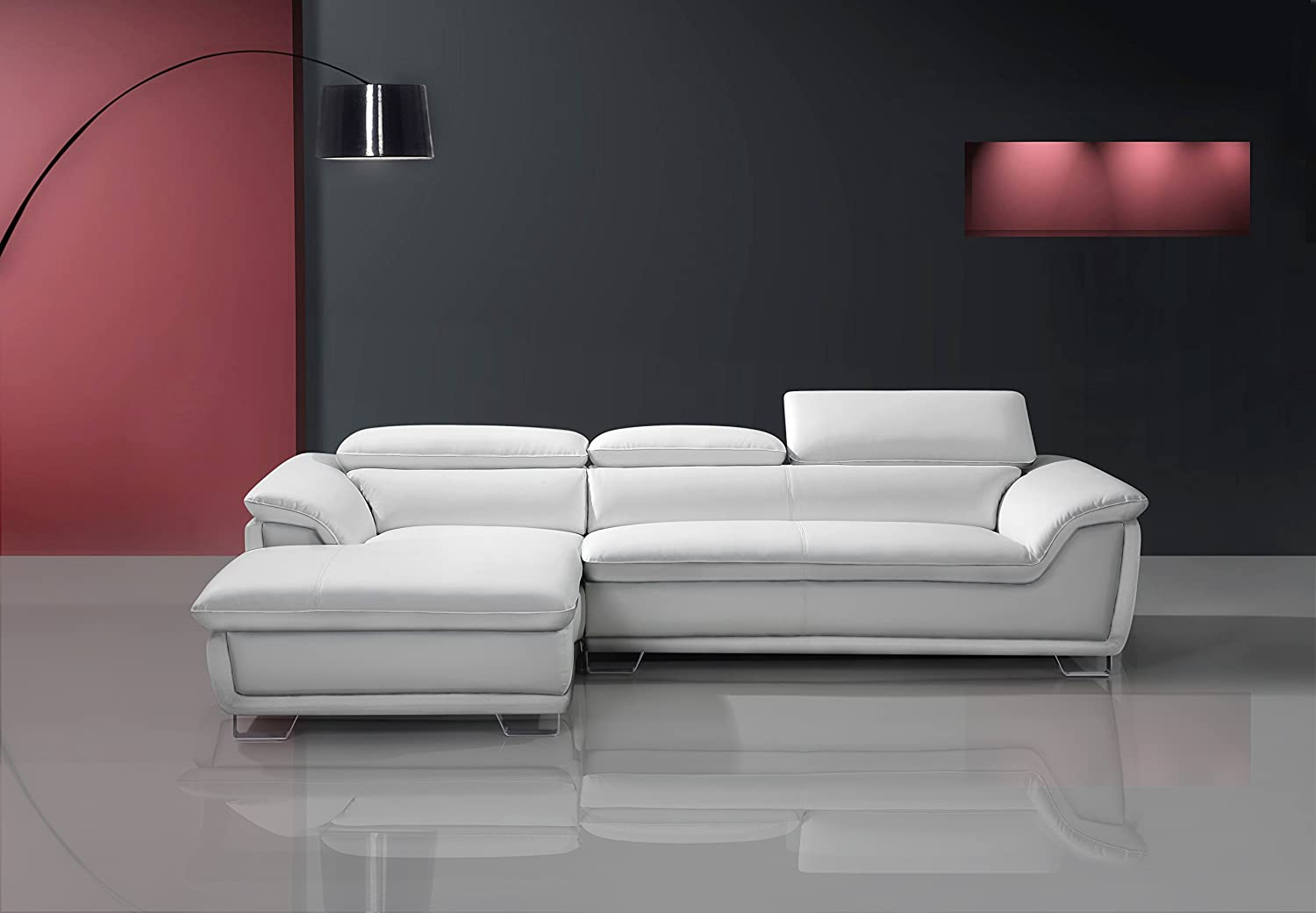 Amazing Speedy Pet Picasso Corner Sofa Ice White Leather Chaise Cjindustries Chair Design For Home Cjindustriesco