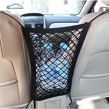 Elastic In Car Seat Side Storage Net Bag Phone Storage Pocket Organizer Holder/_