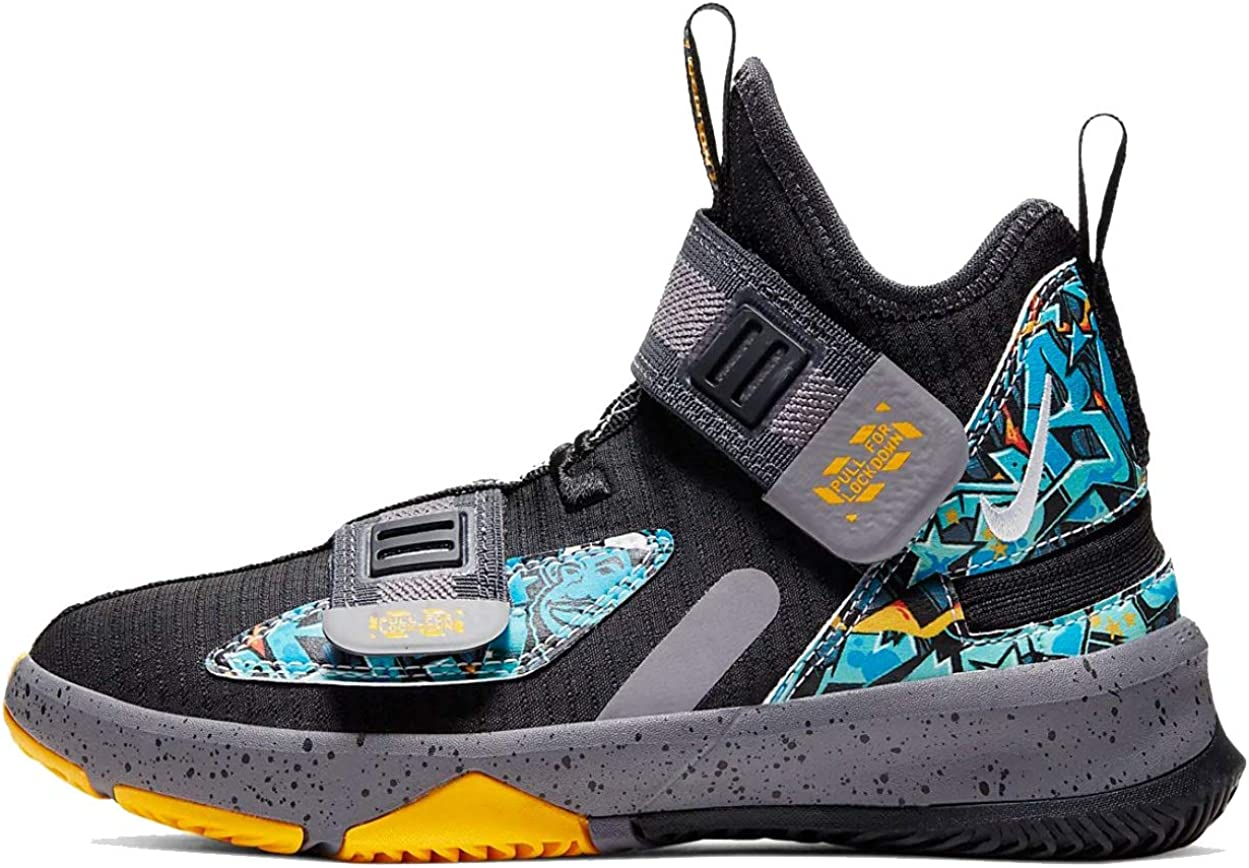 Amazon.com | Nike Lebron Soldier XIII Flyease Ps Little Kids ...