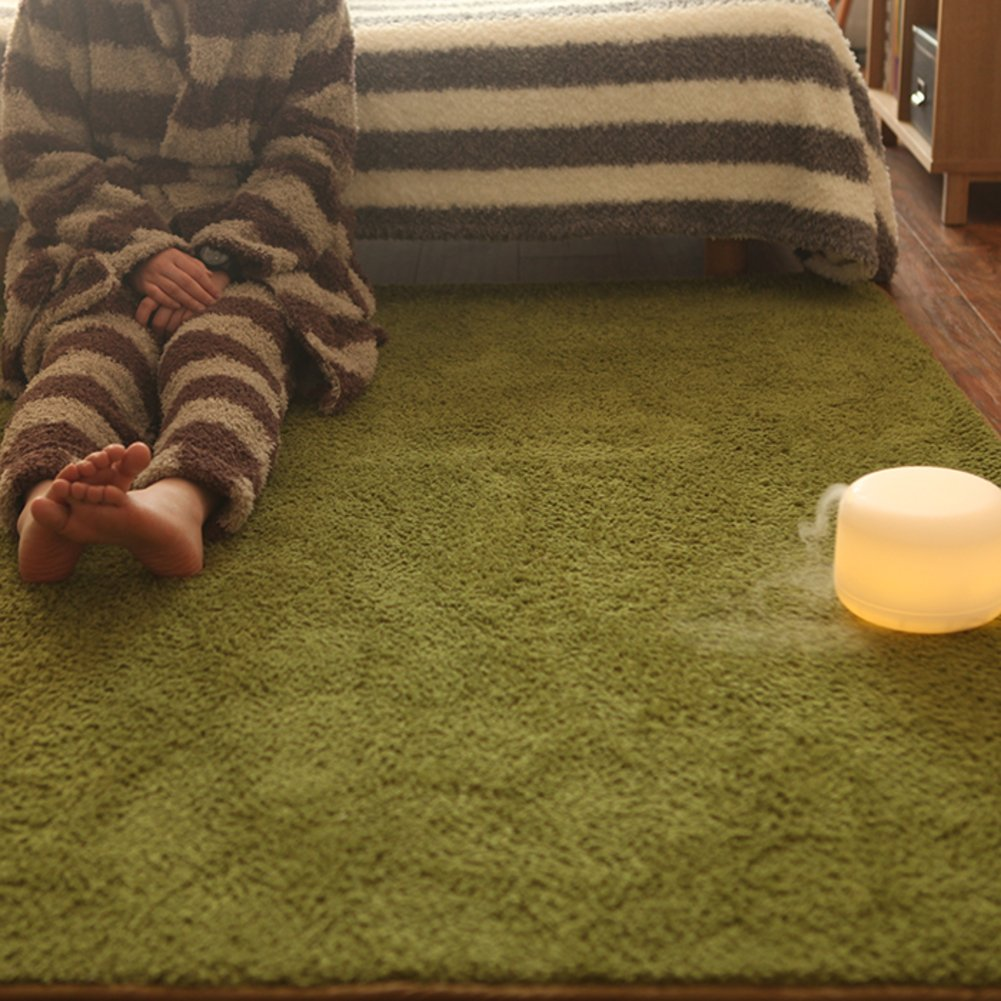 GX&XD Thicken Skin-friendly Tatami floor mat,Folding mattress Floor lounger cover Floor mattress plush Carpet Carpet Creeping mats-A 190x240cm(75x94inch)