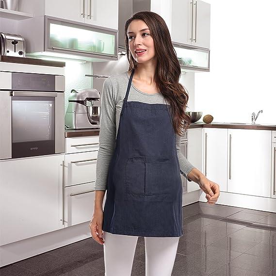 Delantal de protección contra la radiación para la mujer embarazada Anti-radiación Cómodo Anti-bacterias con estilo para los cocineros Cocina de horno ...