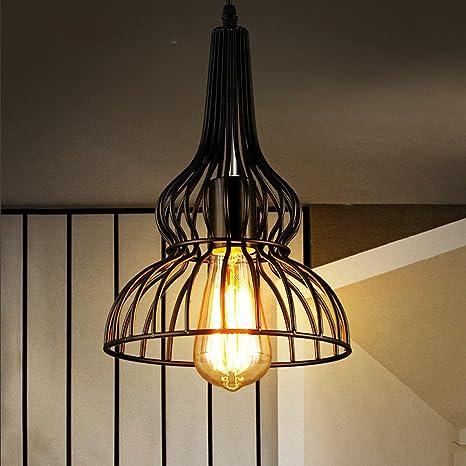 Modern techo lámpara colgante Hierro Industrial iluminación ...