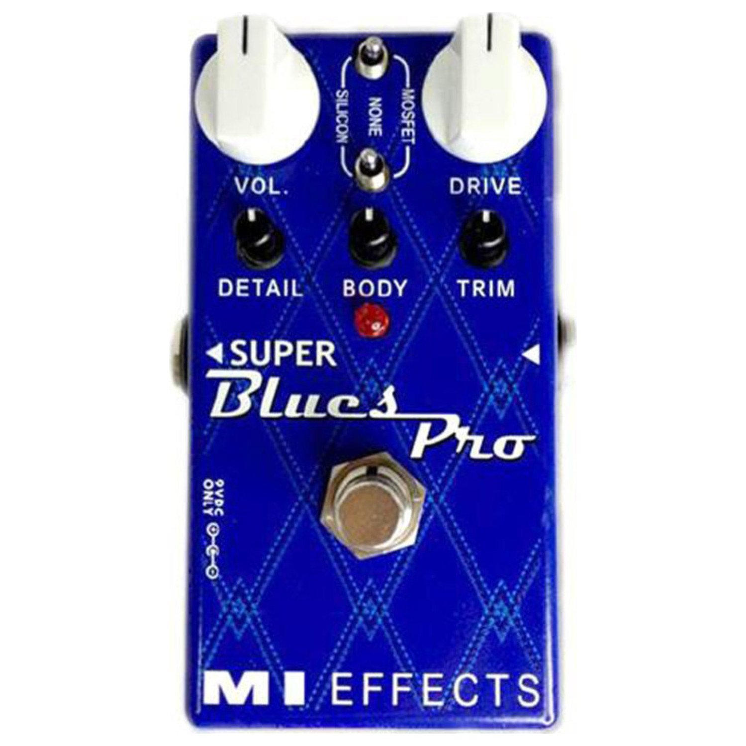 Mi Audio Super Blues Pro Guitar Effect Musical A Frequency Doubler For Electric Instruments