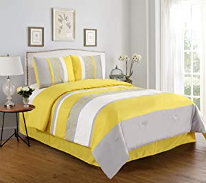 Empire Home Manar 4 Piece Comforter Set Sale (Full)