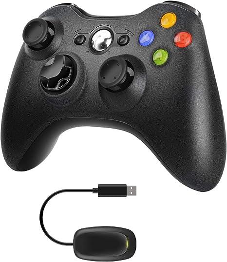Molyhood Xbox 360 Controller, 2.4 G Wireless Game Controller ...