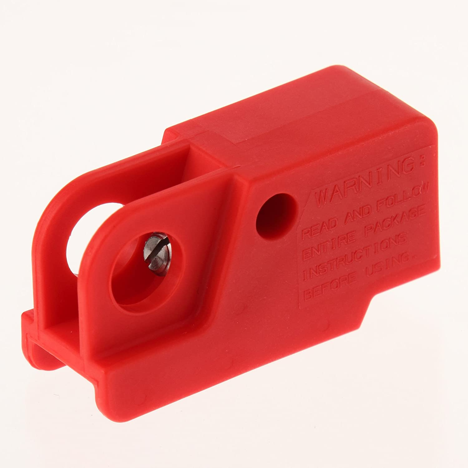Panduit Psl Ws Toggle Switch Lockout Red Electrical Cables Amazon Hubbell 3 Way Wiring Industrial Scientific