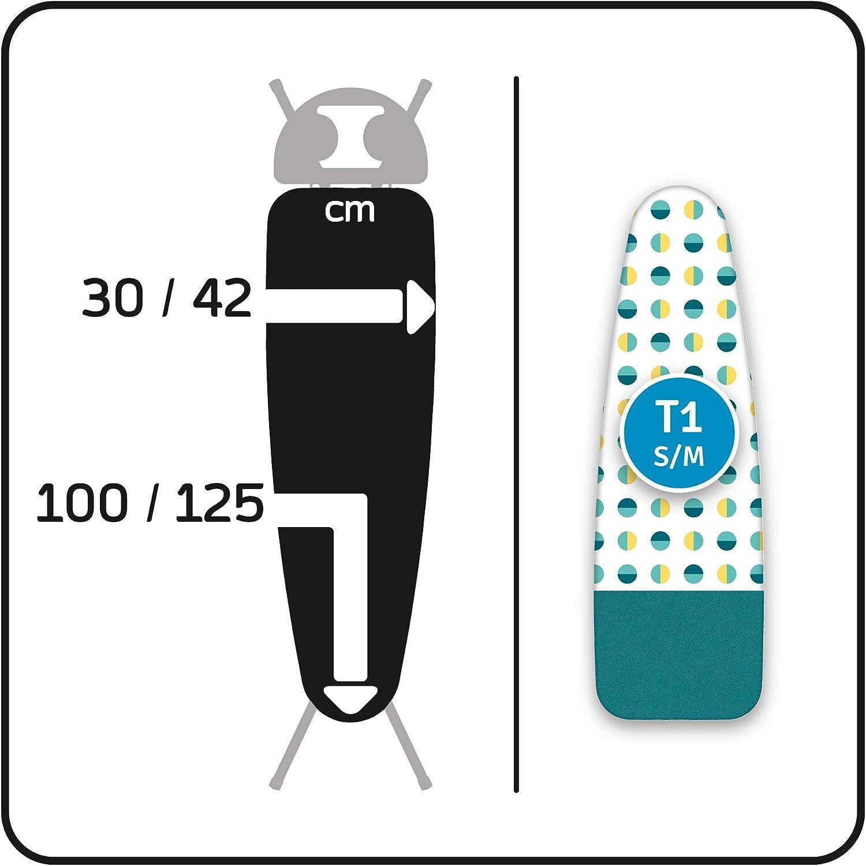 Housse de planche /à repasser confortable avec zone parking Finies les br/ûlures sur votre housse/! LaundrySpecialist/® PARKING S//M