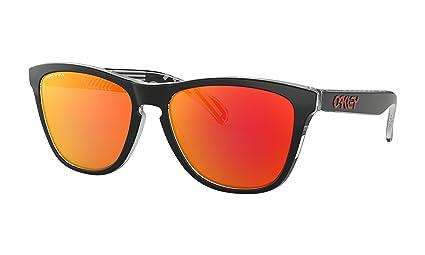 5d2fde0c18b34 Amazon.com   Oakley Frogskins Sunglasses Tokyo Black with Prizm Ruby ...