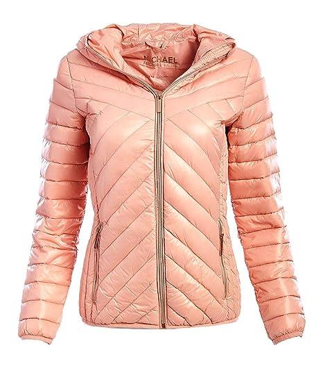 303c12e31 Amazon.com: Michael Michael Kors Women's Pink Down Packable: Clothing