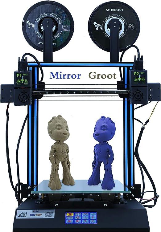 HICTOP IDEX D3 Hero Impresora 3D de extrusora Dual Independiente ...