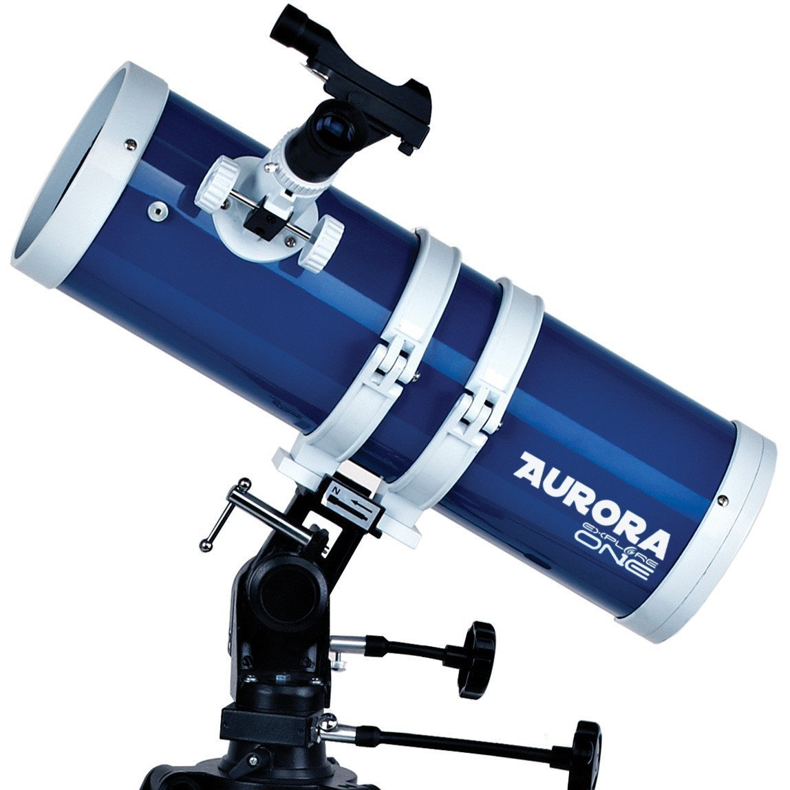 ExploreOne Telescope, 114mm Apeture Astronomy Reflector Telescope 500mm AZ Mount, Travel Scope with Tripod & Finder Scope, Good Partner to View Moon and Planet by EXPLORE ONE