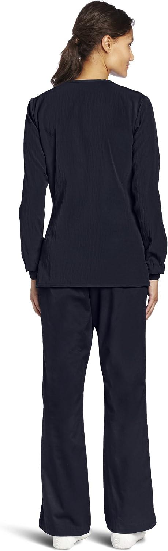 WonderWink Women's Scrubs Four Way Stretch Sporty Snap Jacket: Medical Scrubs Jackets: Clothing