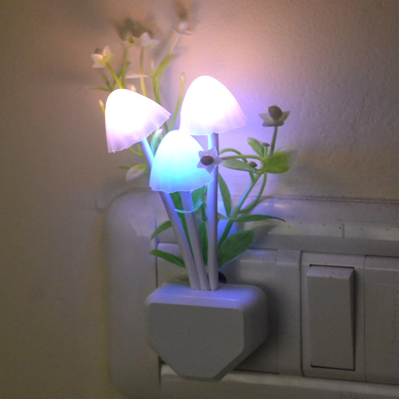 Buy novicz mushroom 1 watt night lamp white online at low prices buy novicz mushroom 1 watt night lamp white online at low prices in india amazon amipublicfo Choice Image