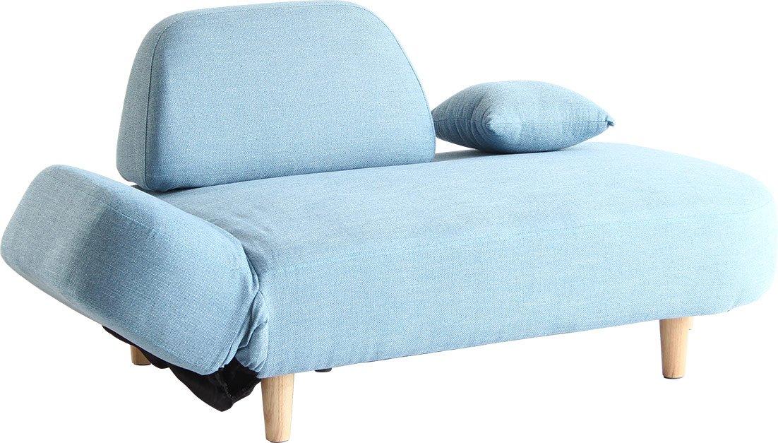 市場 リッシュ ソファー (RicheSofa) 2人掛け 幅161×奥81×高71.5cm ブルー SF-2969BL[2個口] B074FVSKG5 ブルー ブルー