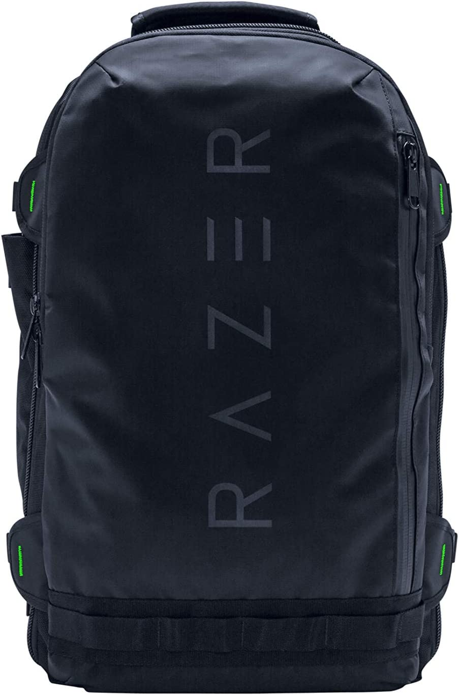 """Razer Rogue v2 17.3"""" Gaming Laptop Backpack: Tear & Water Resistant Exterior - Mesh Side Pocket for Water Bottles - Dedicated Laptop Compartment - Made to Fit 17 inch Laptops"""