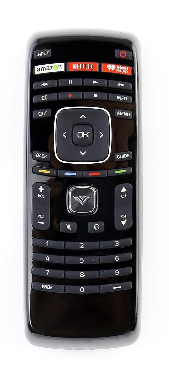 XRT112 Iheart TV リモコン 交換用 VIZIO E231i-B1 E280i-A1 E320i-B0 E390i-A1 E400i-B2 E420i-A1 E500D-A0 E550i-A0 E241i-A1 E280i-B1 E320i-B1 E390i-B0 E401i-A2 E420i-A0 E500i-B1   B07R16VQBH