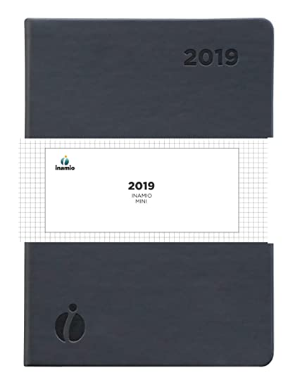Amazon Com Inamio 24 Dated Mini Planner 24 Hour Weekly And