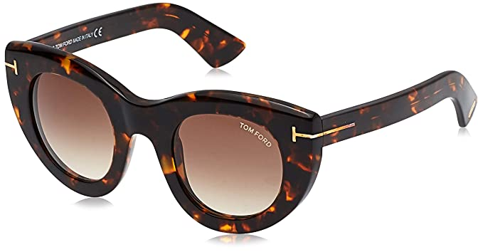 Tom Ford Sonnenbrille FT0583 55F 48 Gafas de sol, Marrón ...
