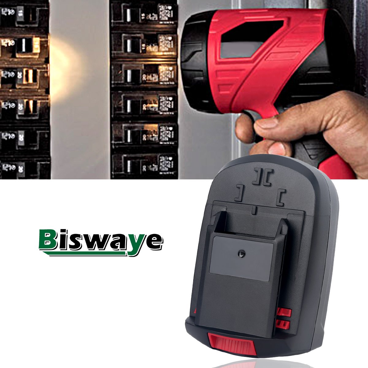 Biswaye 2Pack 18V Battery SB18C SB18A SB18B for Skil 18V Select System Cordless Tools 2810 2888 2895 2897 2898 4570 5850 5995 7305 9350, 3000mAh Ni-Cd by Biswaye (Image #7)