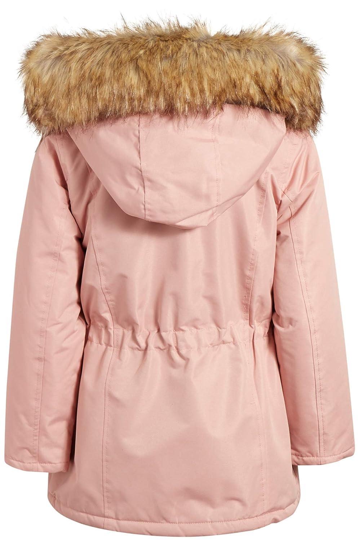 Urban Republic Girls Fur Lined Parka Heavyweight Durable Jacket with Fur Trim Hood