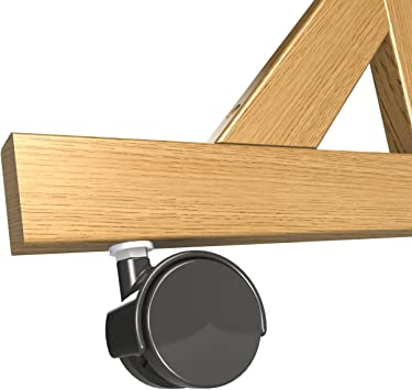 Set of 4 for Wood Frame Reversible Units Only Casters