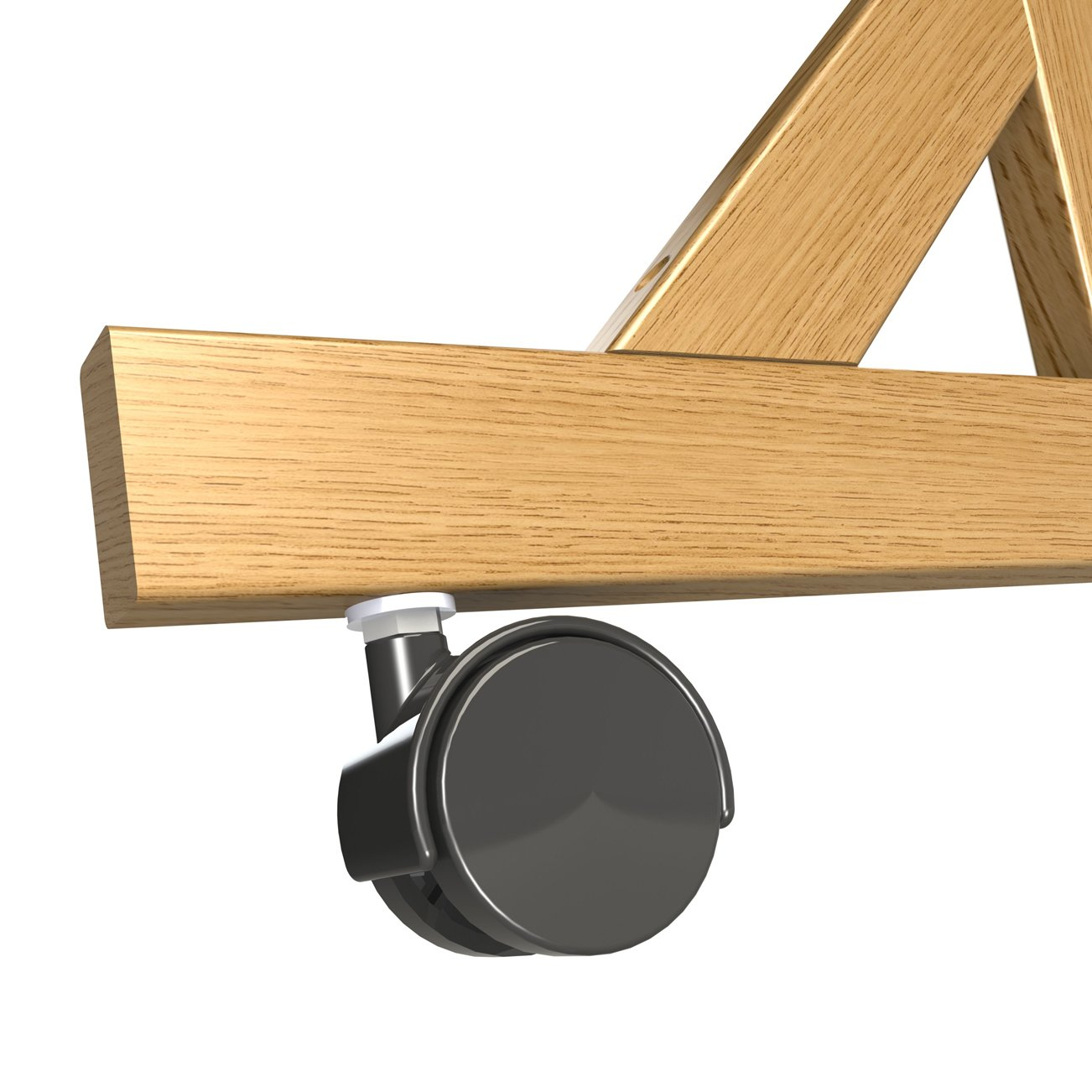 Casters - Set of 4 for Wood Frame Reversible Units Only