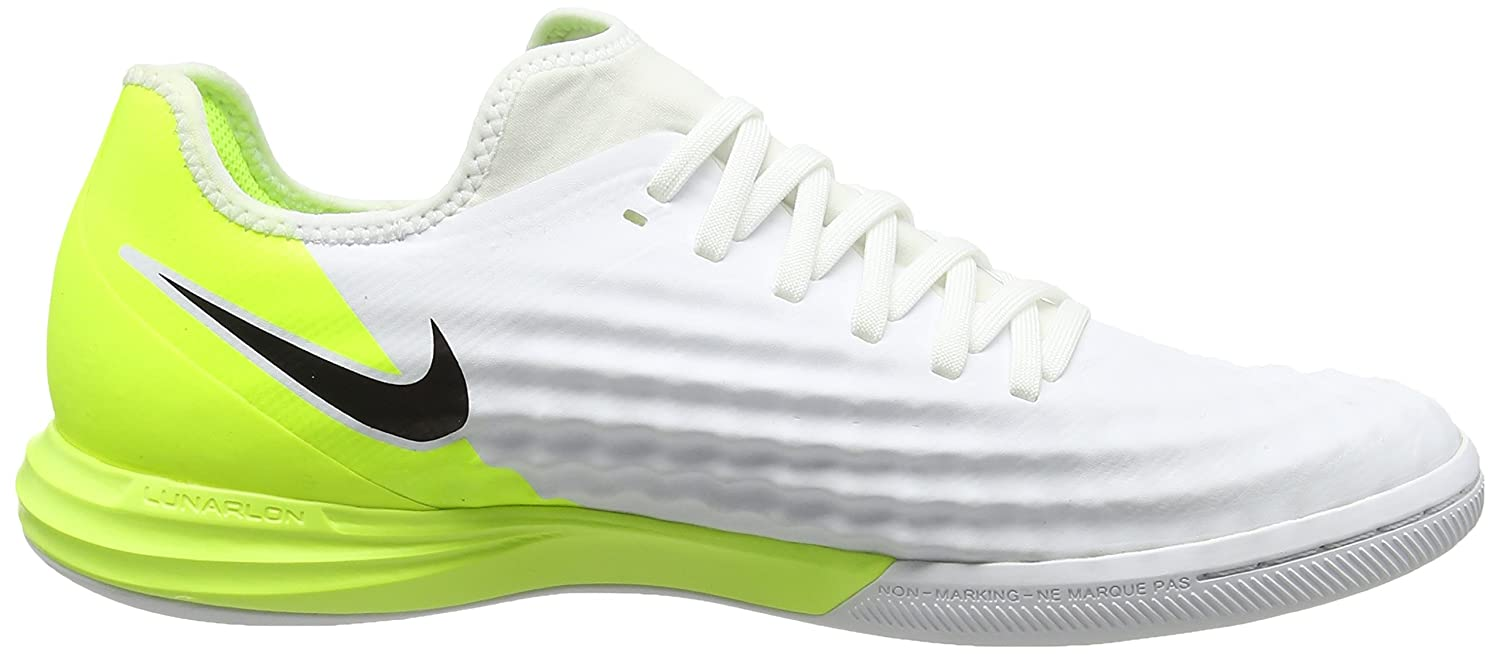 3054492195e0 Nike Magistax Finale II Indoor Shoes  White  (8)  Buy Online at Low Prices  in India - Amazon.in