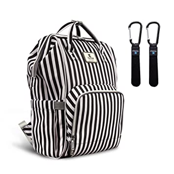 75c24b1506cc1 Hafmall Diaper Bag Backpack Waterproof Multi-Function Travel Bags, Large  Capacity and Durable...