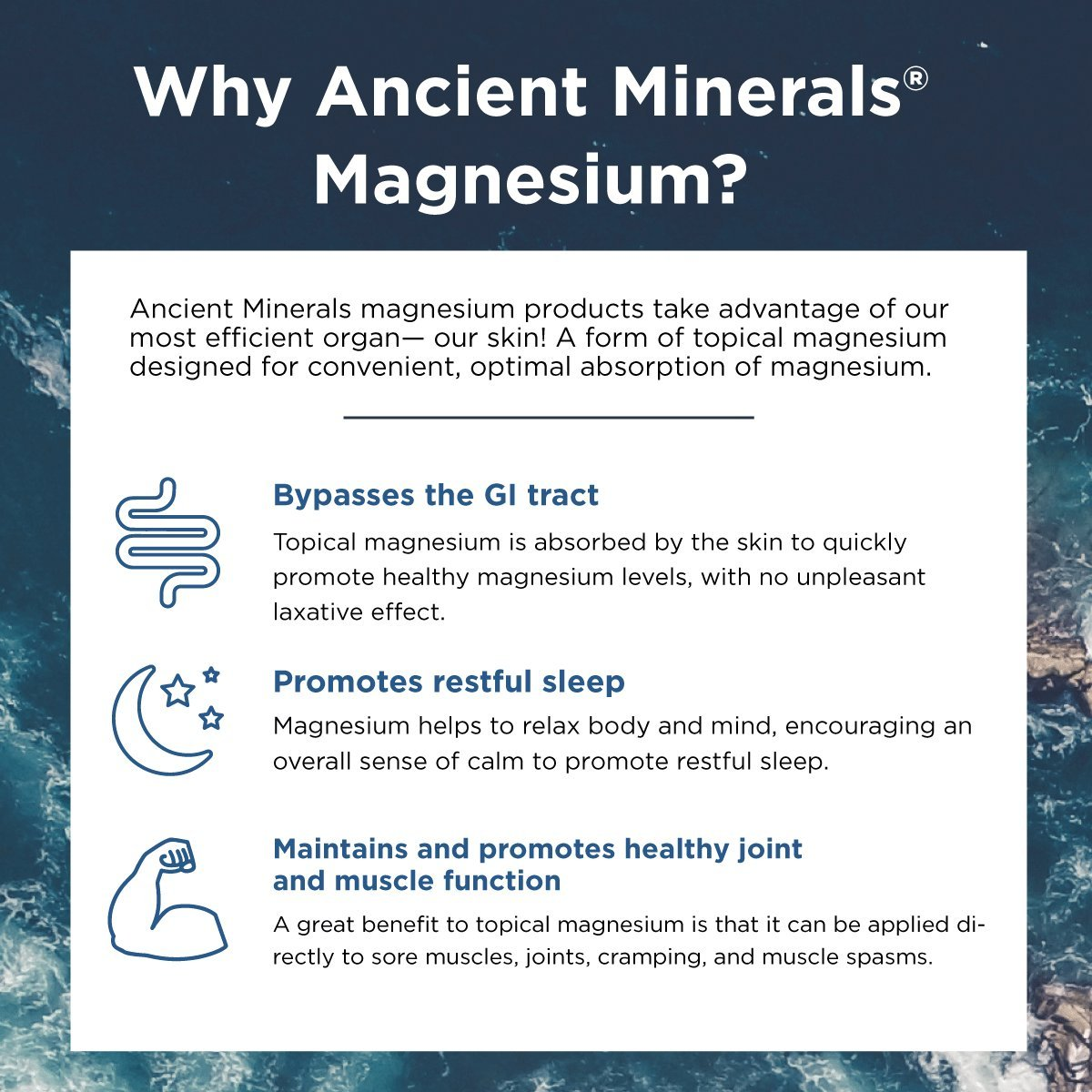 Ancient Minerals Magnesium Lotion of Pure Genuine Zechstein Magnesium Chloride - Best uesd for Topical Skin Application on Sensitive Skin(5oz) by Ancient Minerals (Image #2)