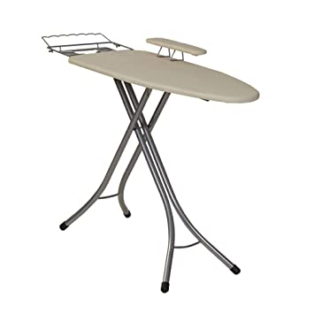 Household Essentials 971840 1 Wide Top 4 Leg Mega Ironing Board With  Adjustable Height