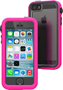 Waterproof case for iPhone 5 / 5s Case, High Touch Sensitivity ID, Military Grade Drop and Shock Proof Premium Material Quality, Slim Design, Radiant Orchid