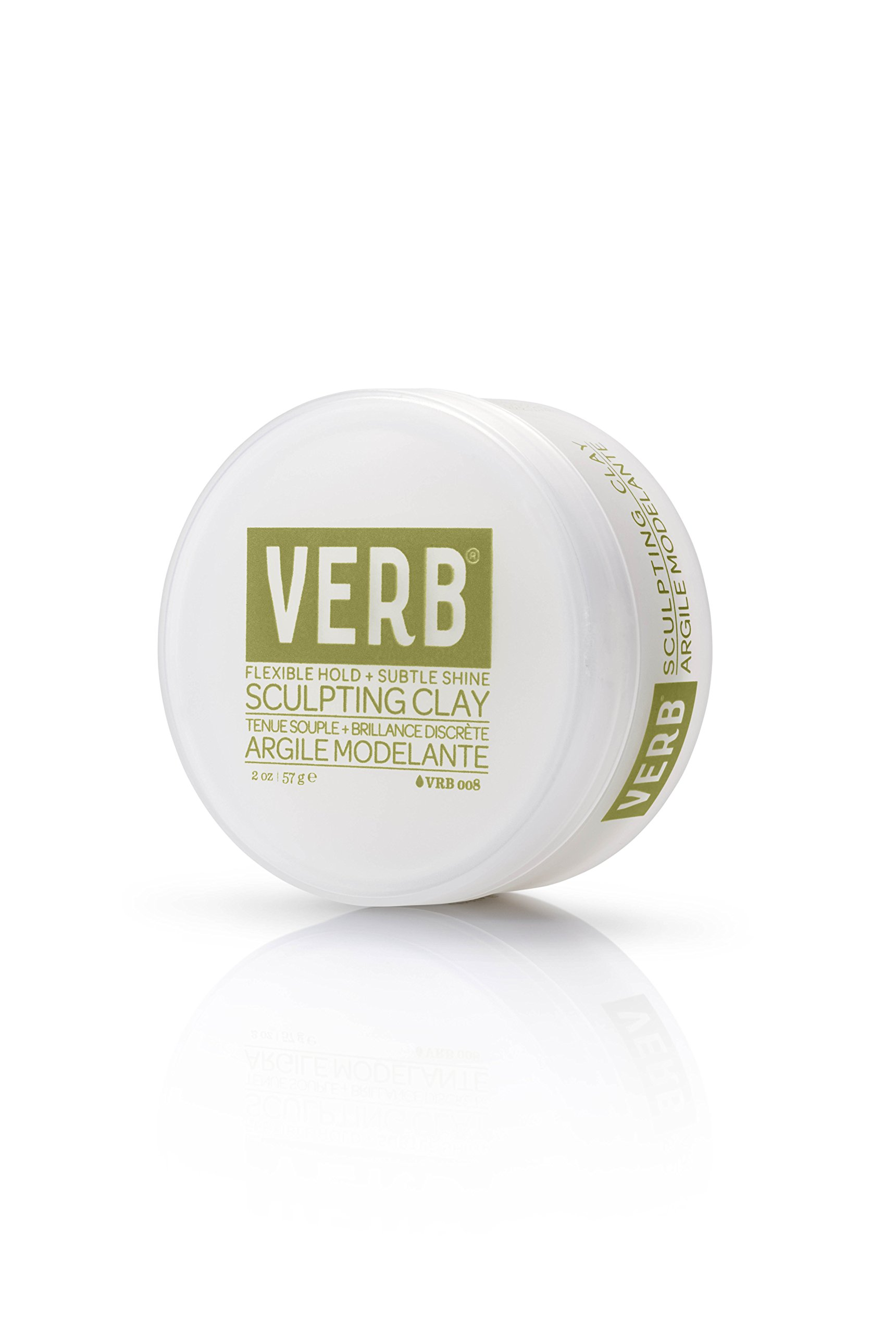 Verb Sculpting Clay - Flexible Hold + Subtle Shine 2oz by verb