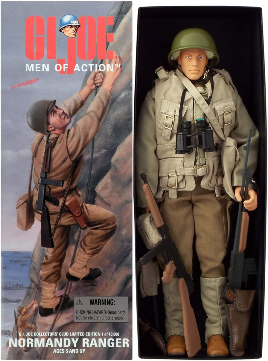 "12/"" Action Man Soldier Limited Edition Action 12 Inch Figure Hasbro New In Boxed"
